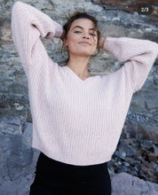 Load image into Gallery viewer, Blair Knit Jumper- Blush - Mimi Lil & Co