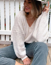 Load image into Gallery viewer, Blair Knit Jumper - Cream - Mimi Lil & Co