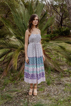 Load image into Gallery viewer, Harmony Maxi Dress Purple Sapphire - Mimi Lil & Co