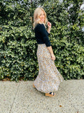 Savannah Leopard Print Maxi Skirt - Mimi Lil & Co