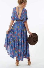 Load image into Gallery viewer, The 'Everly' Boho Love Bird Dress in Blue - Mimi Lil & Co
