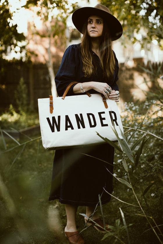 WANDER Canvas Utility Bag
