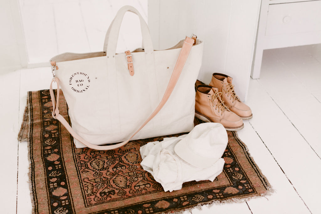 Grand Canvas Cargo Bag - Natural