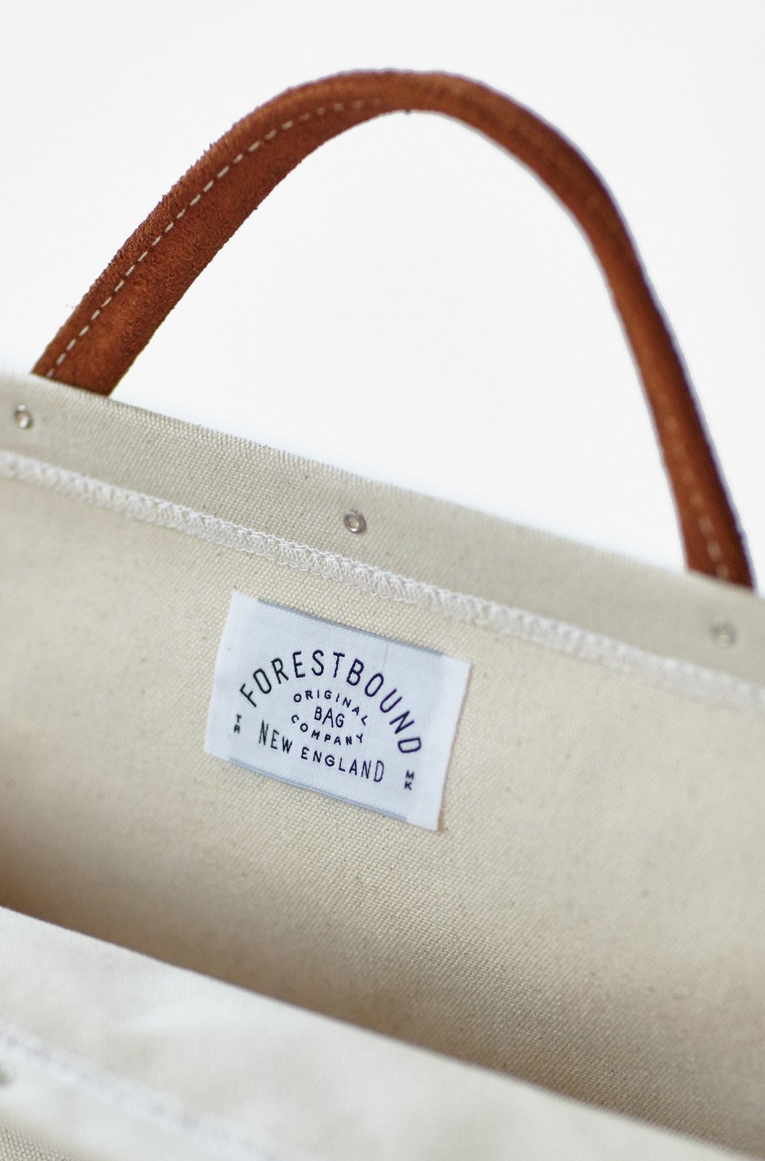 Forestbound Canvas Utility Bag - Natural