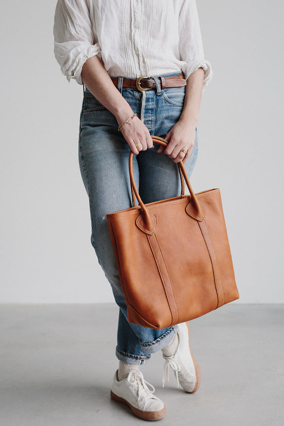 Leather Passenger Tote