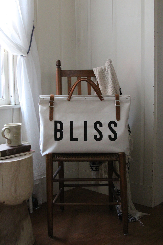 BLISS Canvas Utility Bag