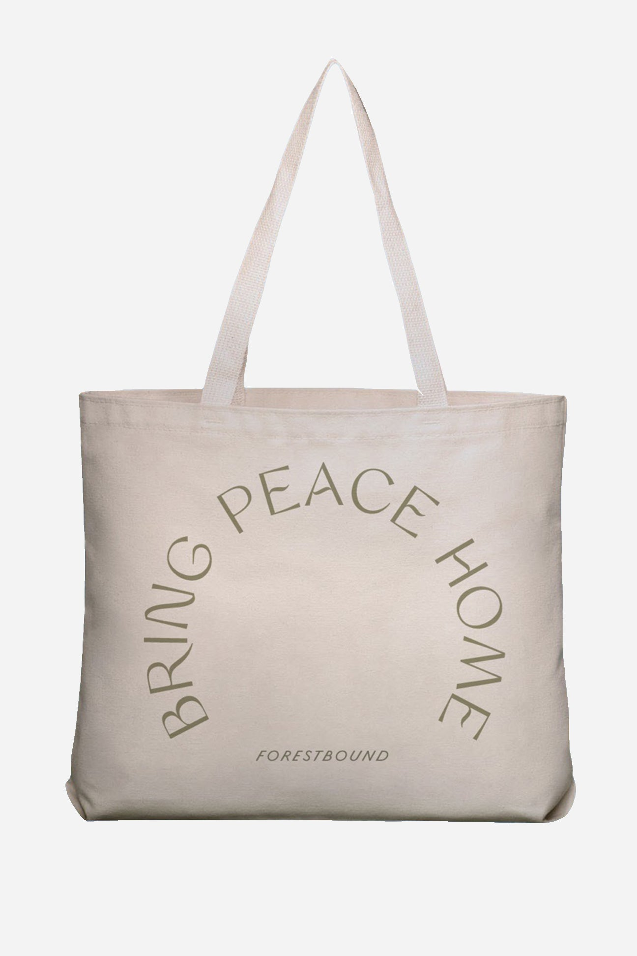 Bring Peace Home Tote