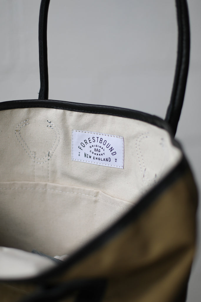 1930's era Salvaged Canvas Tote Bag