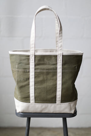 Reclaimed Market Tote No. 080
