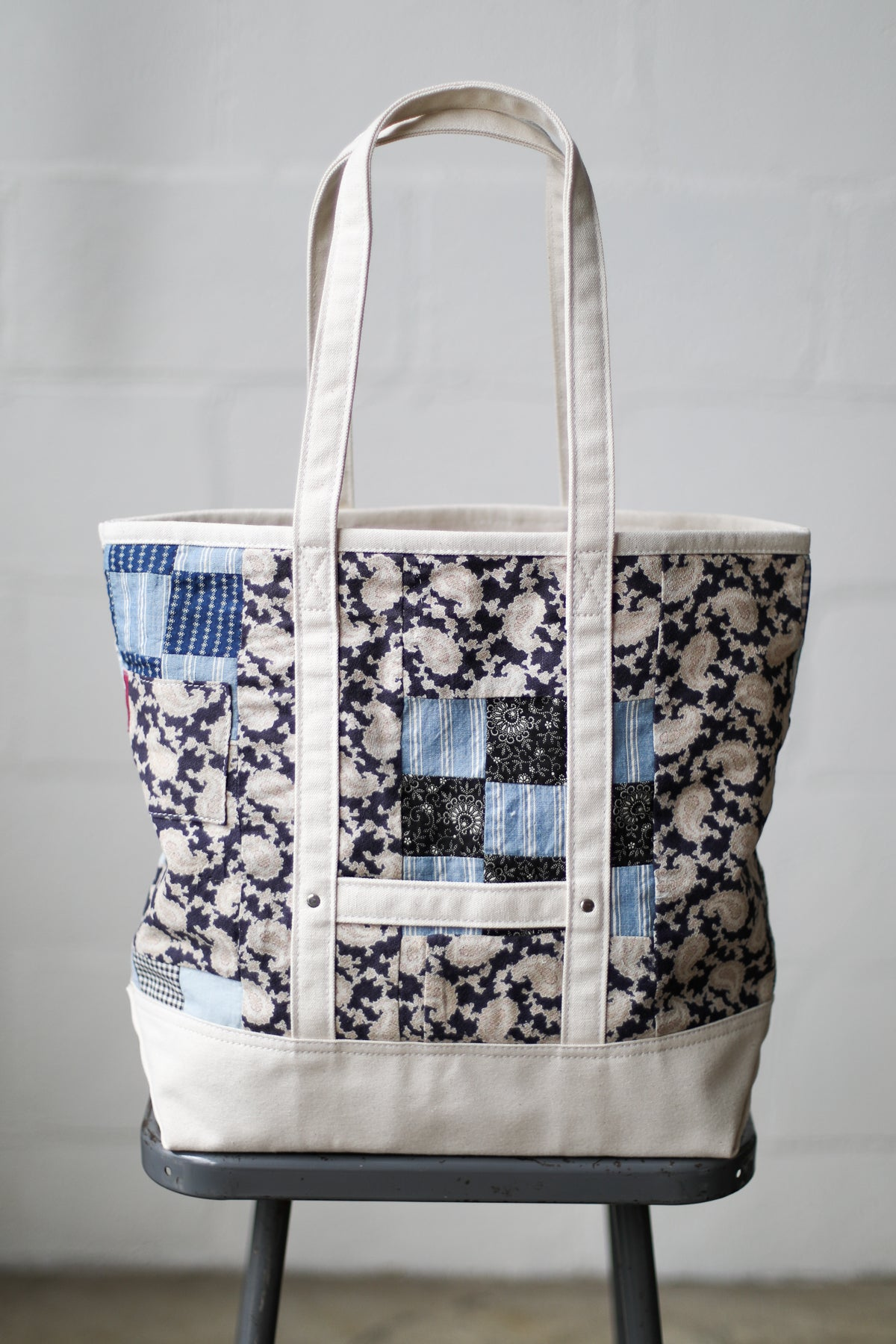 Reclaimed Market Tote No. 076