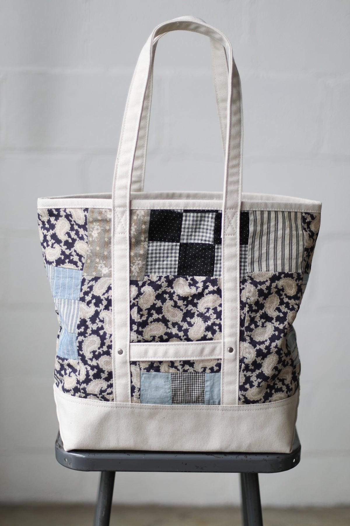 Reclaimed Market Tote No. 078