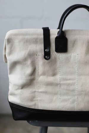 WWII era Salvaged USN Canvas Carryall