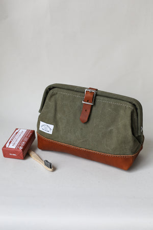 Classic Dopp Kit - Salvaged Olive