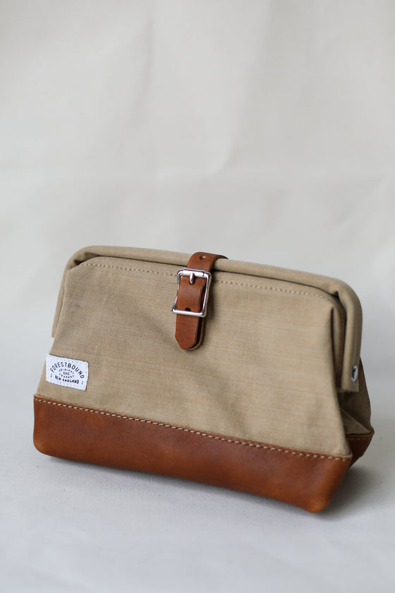 Classic Dopp Kit - Salvaged Desert Tan