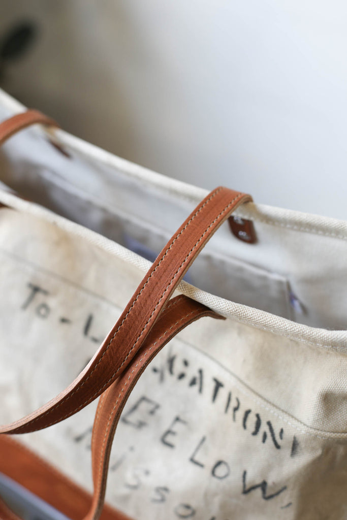 WWII era Salvaged USN Canvas Everyday Tote