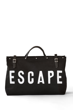 Forestbound ESCAPE Canvas Utility Bag in Black