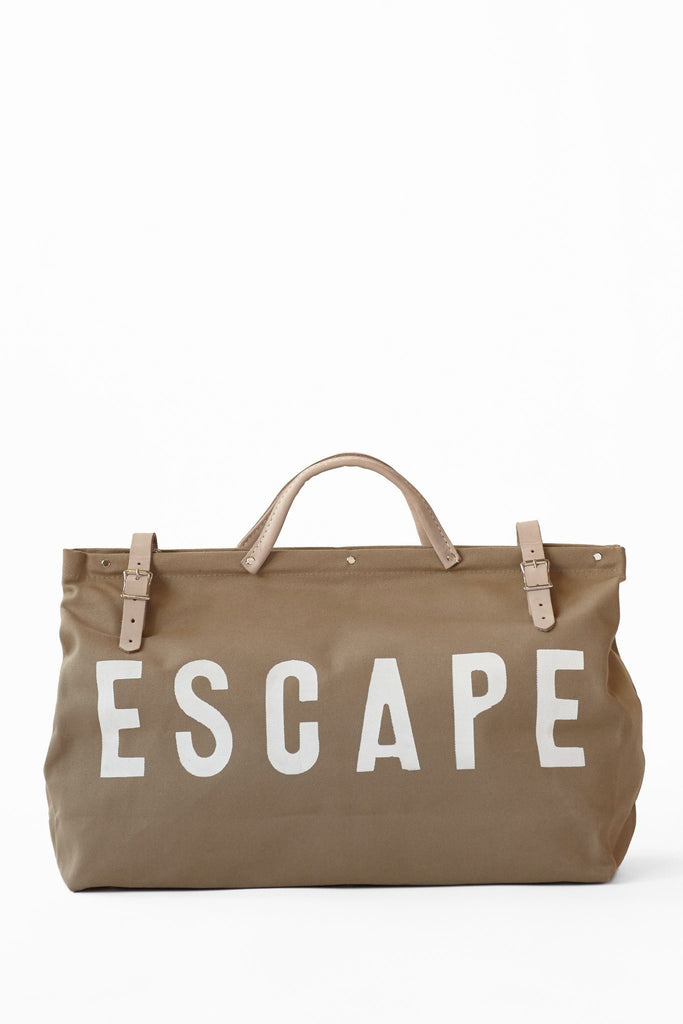 Forestbound ESCAPE Canvas Utility Bag in Khaki