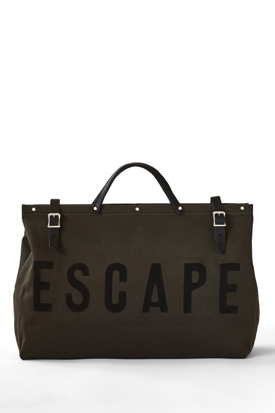 Forestbound ESCAPE Canvas Utility Bag in Olive