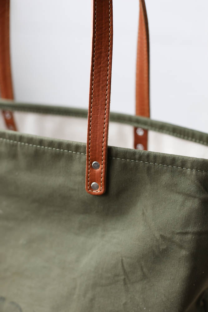 WWII era Salvaged Everyday Tote Bag
