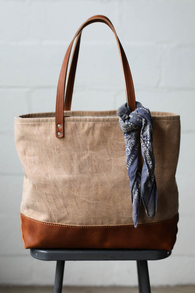 1950's era Salvaged Canvas Everyday Tote