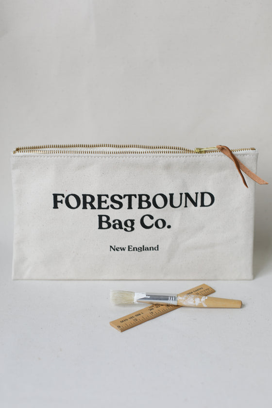 Forestbound Bag Co. Zipper Pouch