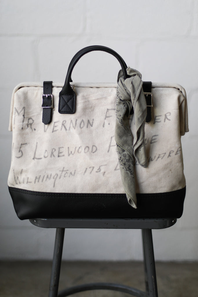WWII era Salvaged USN Sea Bag Carryall