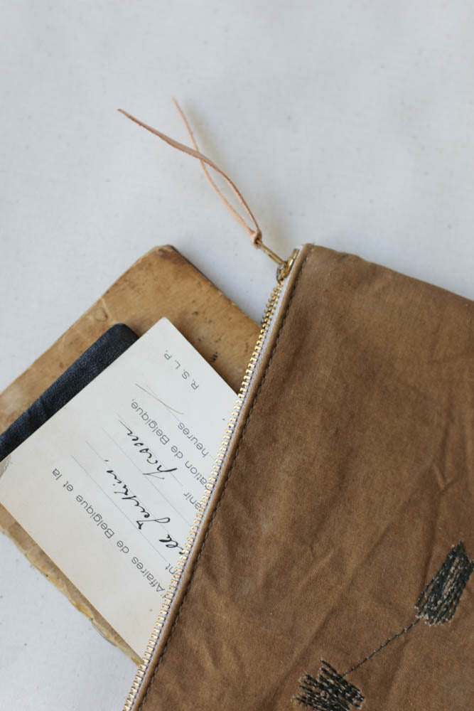 1940's era Canvas Utility Pouch