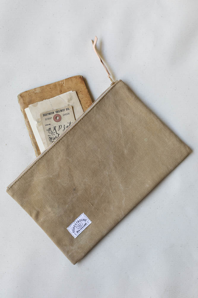 1940's era Military Canvas Utility Pouch