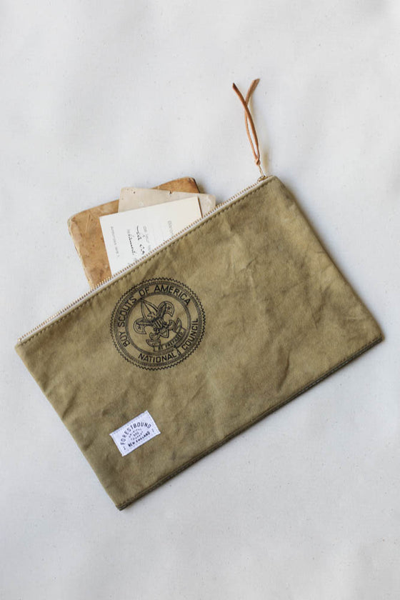 1950's era Boyscout Canvas Utility Pouch