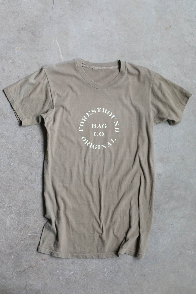 Forestbound Vintage Army Tee No. 3