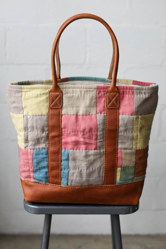 Folk Fibers x Forestbound Quilted Tote Bag No. 5