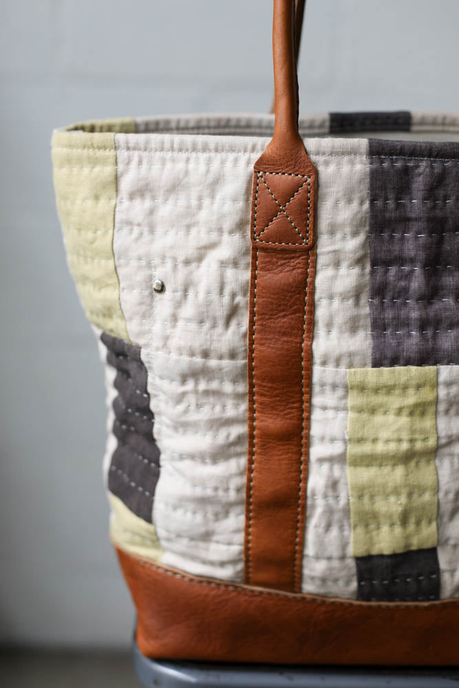 Folk Fibers x Forestbound Quilted Tote Bag No. 7