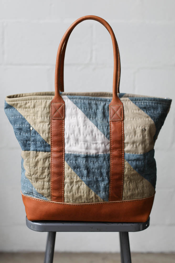 Folk Fibers x Forestbound Quilted Tote Bag No. 1