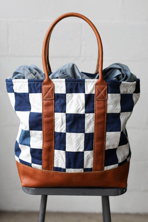 Folk Fibers x Forestbound Quilted Tote Bag No. 3