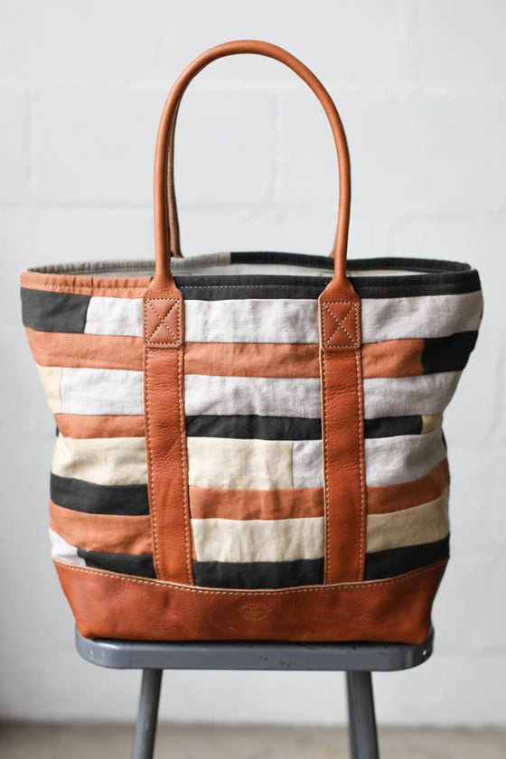 Folk Fibers x Forestbound Quilted Tote Bag No. 2