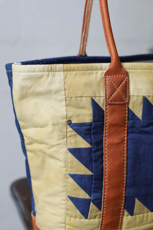 Folk Fibers x Forestbound Quilted Tote Bag No. 4