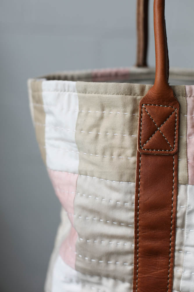 Folk Fibers x Forestbound Quilted Tote Bag No. 6