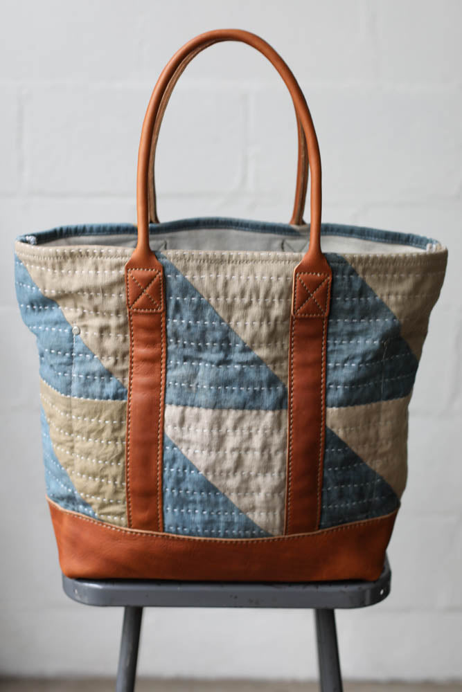 Folk Fibers x Forestbound Quilted Tote Bag No. 8