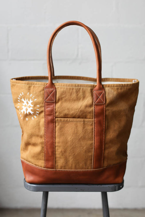 Folk Fibers x Forestbound Dyed Tote Bag - Cutch