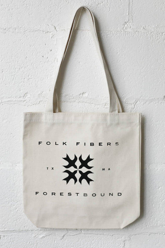 Folk Fibers x Forestbound Tote