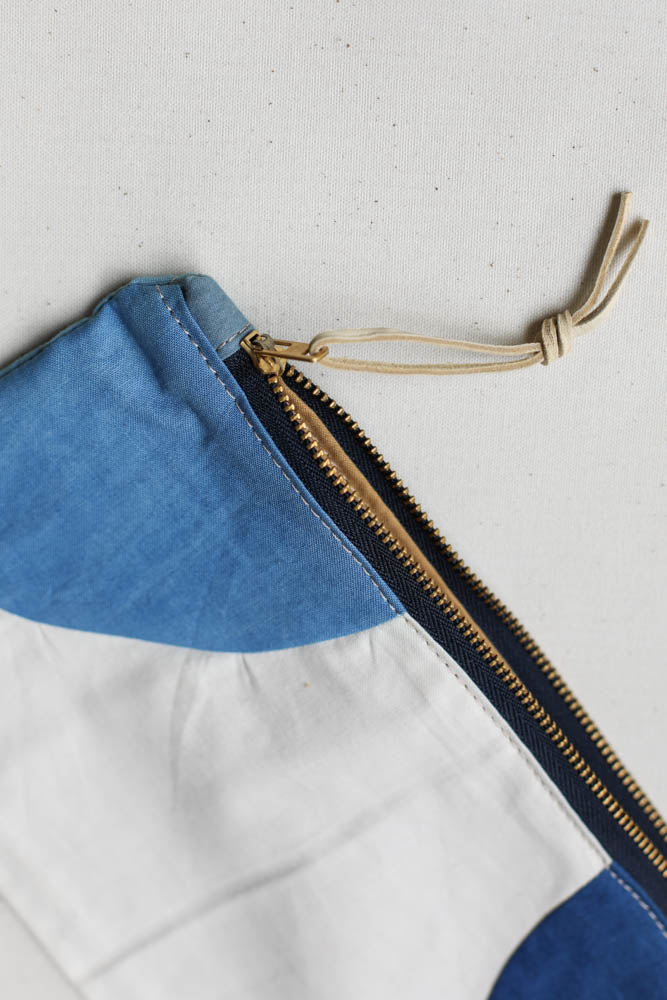 Folk Fibers x Forestbound Zip Pouch No. 3