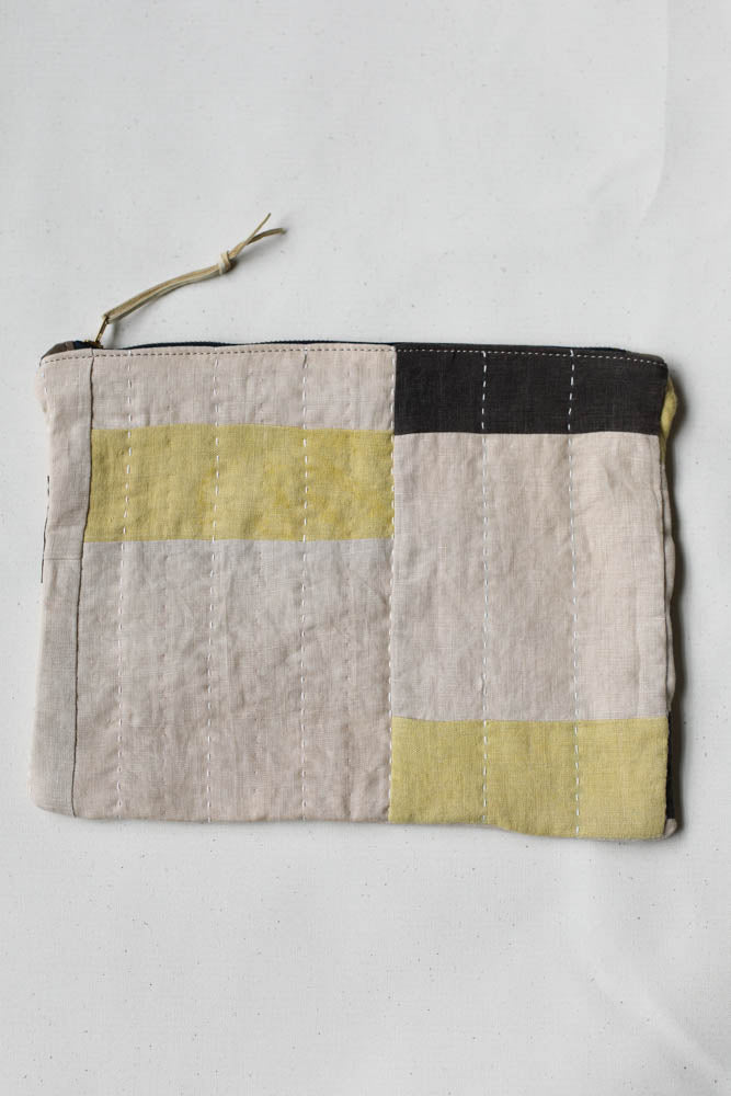 Folk Fibers x Forestbound Zip Pouch No. 1
