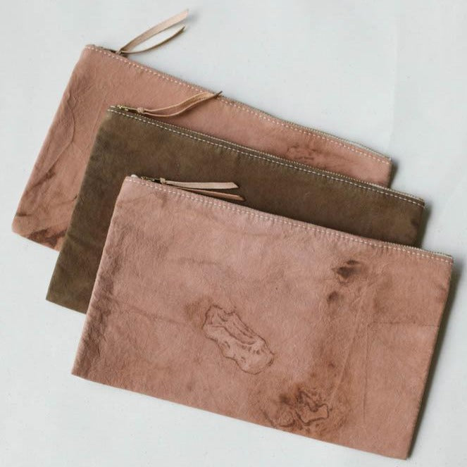 Folk Fibers x Forestbound Naturally Dyed Zip Pouch