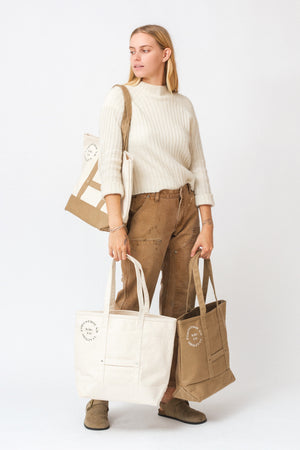 Market Tote in Natural