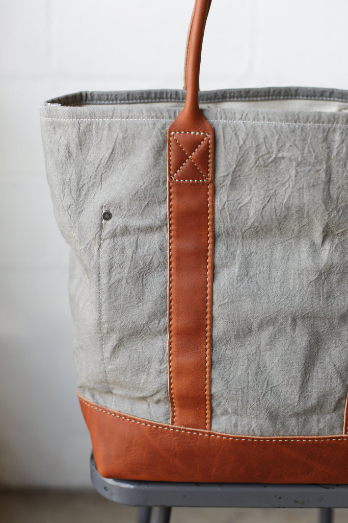 Folk Fibers x Forestbound Dyed Tote Bag - Iron & Tannin