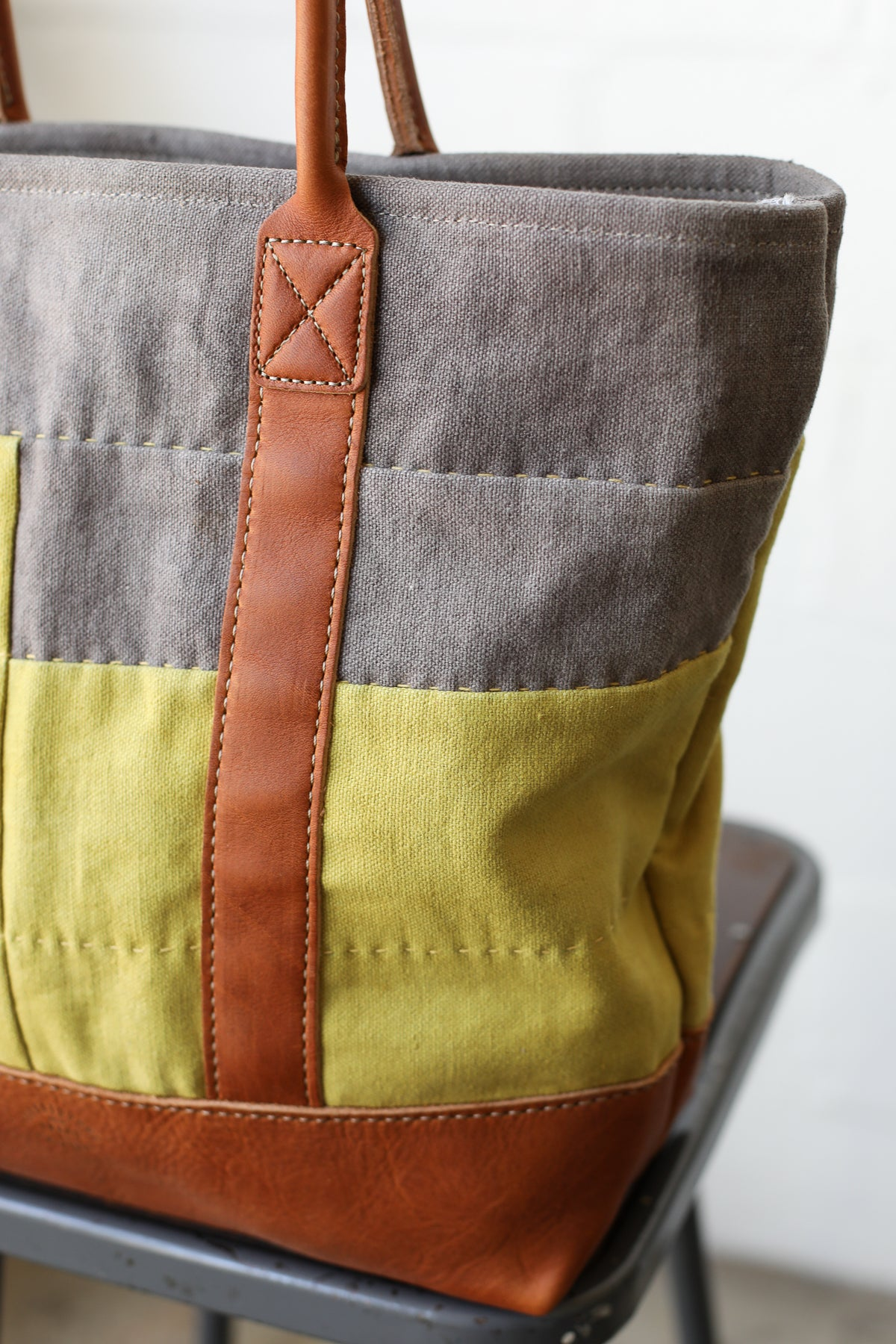 Folk Fibers x Forestbound Quilted Tote Bag No. 10