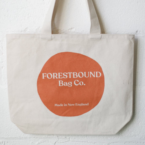 Forestbound Logo Tote Bag - Apricot