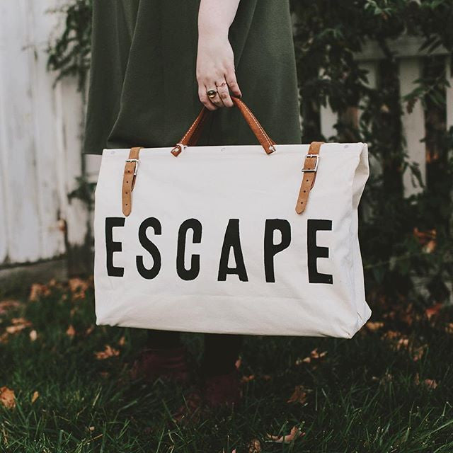 ESCAPE Canvas Utility Bag by Forestbound