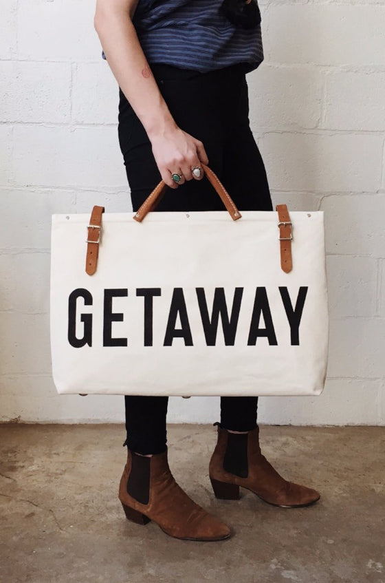 GETAWAY Canvas Utility Bag