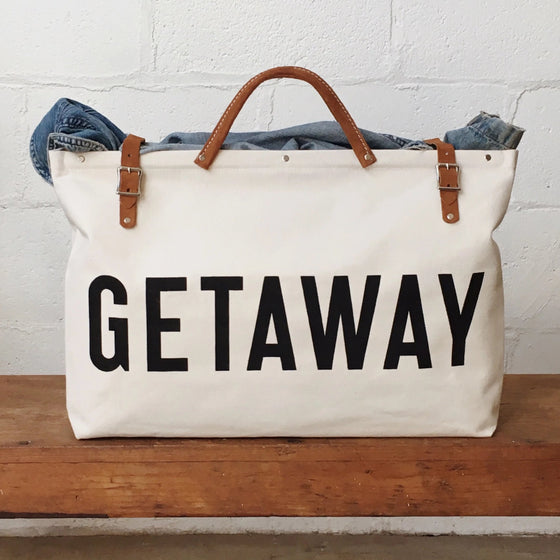 GETAWAY Canvas Utility Bag - Second